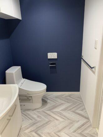 リノベーション賃貸トイレ洗面