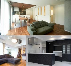 戸建てからマンションまでリフォームします