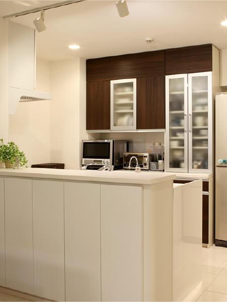 キッチン収納事例1