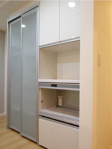 キッチン収納事例3