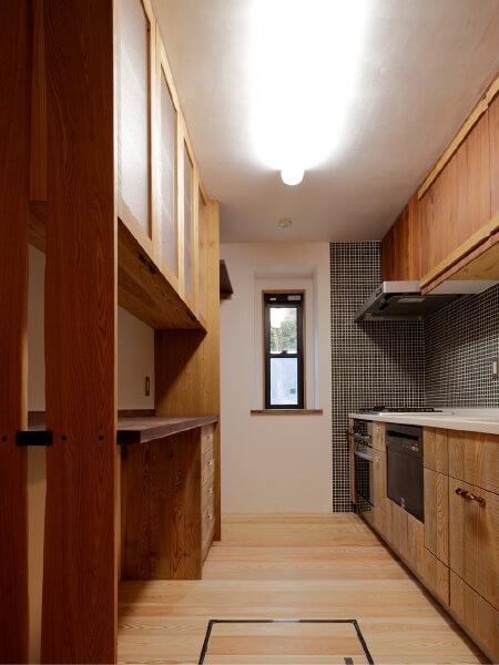 キッチン収納事例2