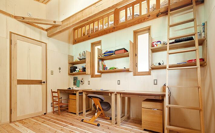 施工事例 i様邸(横浜市中区)子供部屋