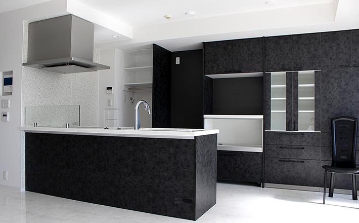 Y邸施工例 キッチン1